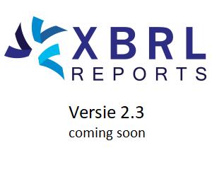 XBRLreports 2.3 is in aantocht