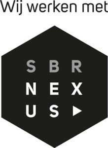 SBR Nexus logo-werken met